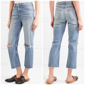 NWT GRLFRND The Helena Straight Leg Jeans